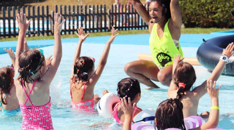 Animación infantil piscina
