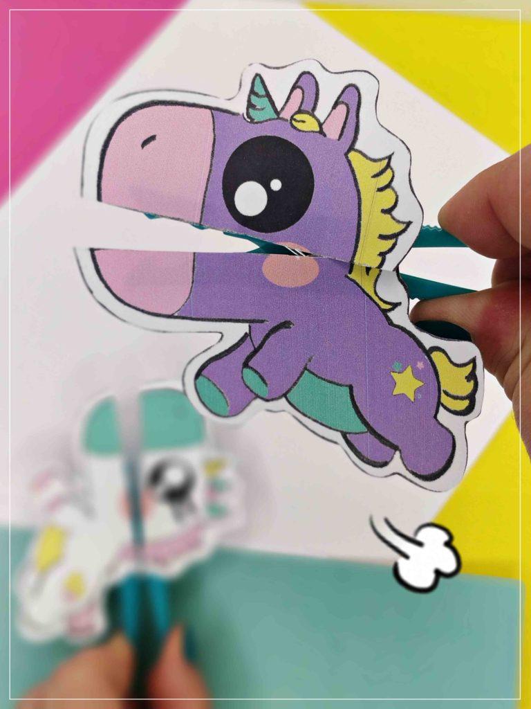 Manualidades unicornio